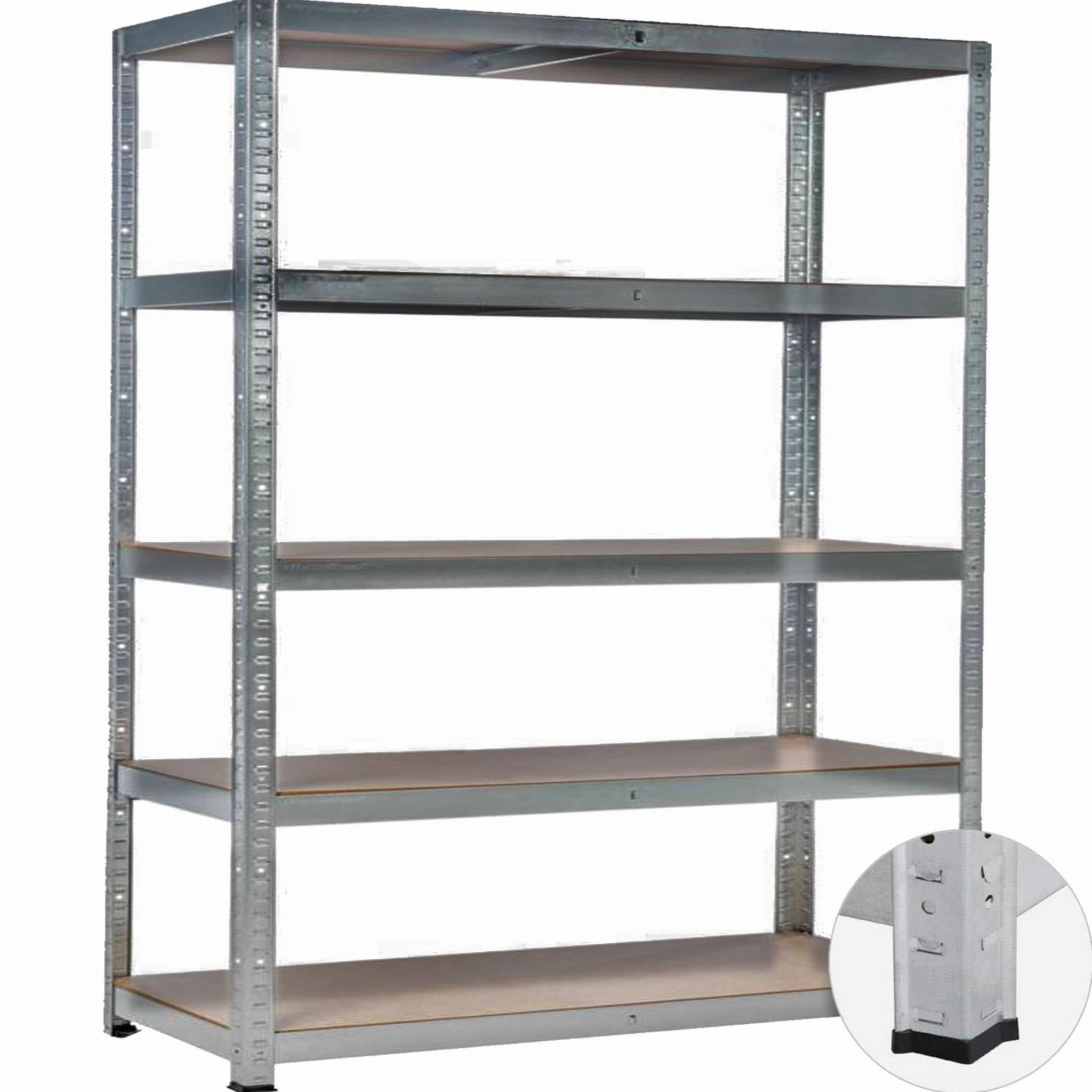Regał Metalowy Magazynowy 180x90x40 5 Półek 100kg